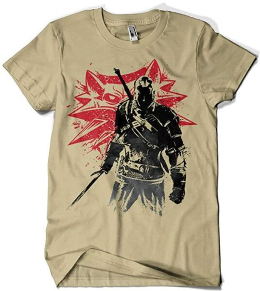 Camiseta The Witcher Sumie v2 (Dr.Monekers)