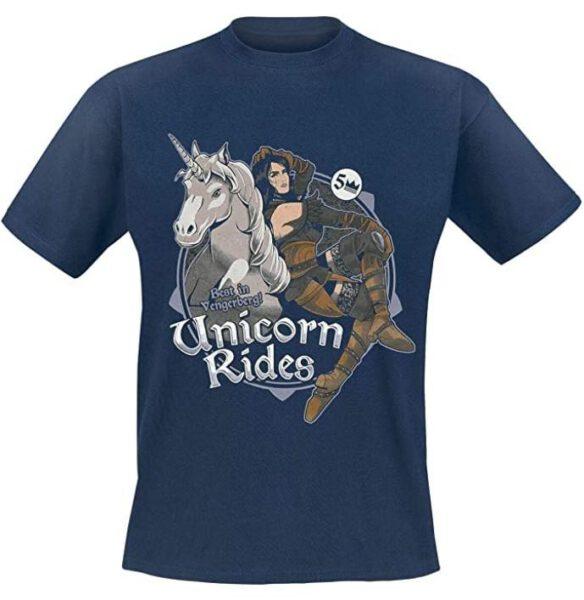 Camiseta The Witcher Yennefer Unicorn Rides