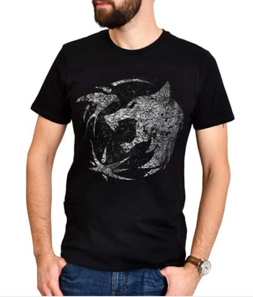 Camiseta The Witcher Emblema