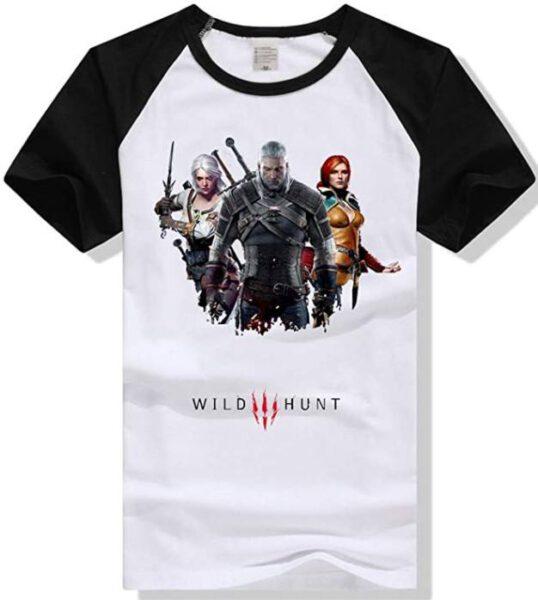 Camiseta The Witcher Wild Hunt