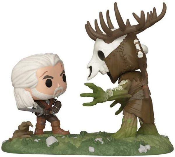 Funko Pop! The Witcher III Wild Hunt Geralt Vs Leshen