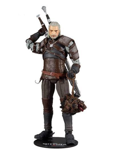 The Witcher Figura Geralt Monster Hunter