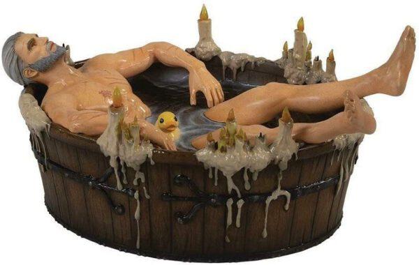 The Witcher – Figura Geralt de Rivia baño