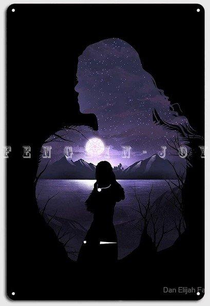 Poster metálico Yennefer- Varios tamaños