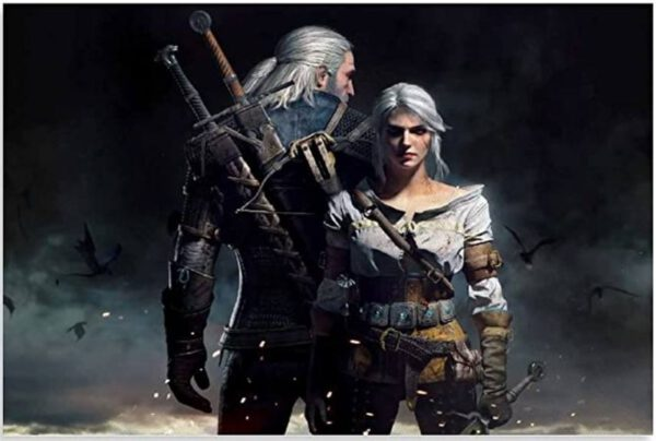 Póster de Ciri And Geralt varios tamaños