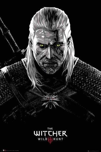 The Witcher Póster Toxicity Poisoning- 61 x 91,5 cm