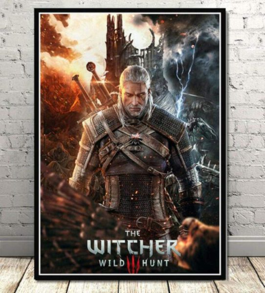 Witcher Wild Hunting Poster- 50x70cm