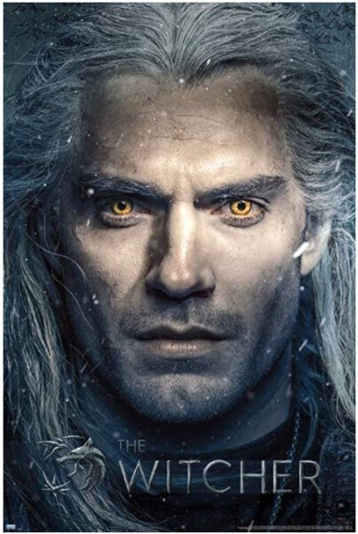 Poster The Witcher Close Up 91×61 cm