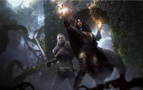 Póster de Yennefer y Geralt – Varios tamaños