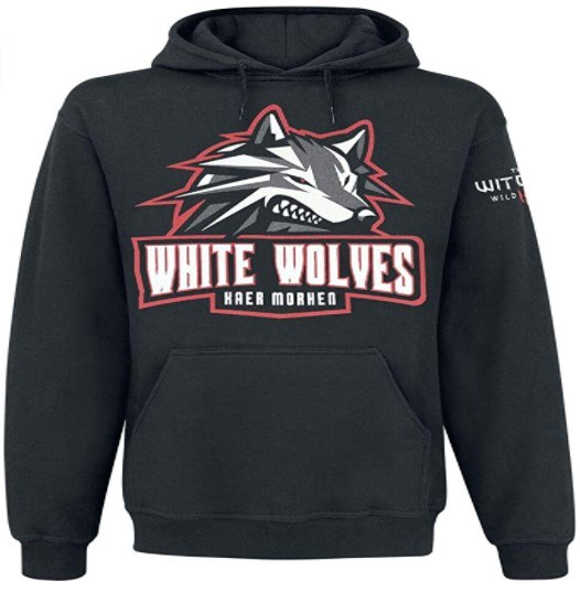 Sudadera The Witcher White Wolves