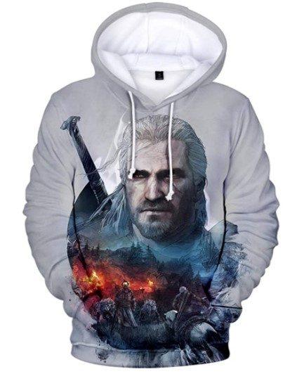Sudadera The Witcher Geralt de Rivia