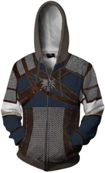 Sudadera disfraz Witcher 3: Wild Hunt Geralt