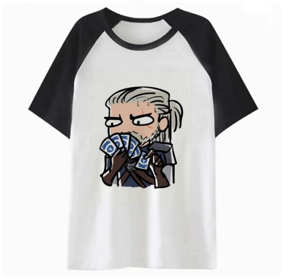 Camiseta The Witcher playing Gwent