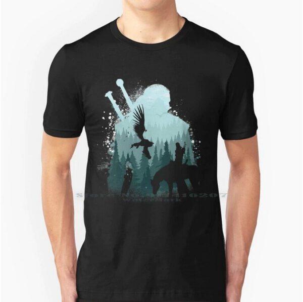 Camiseta Geralt de Rivia Horse