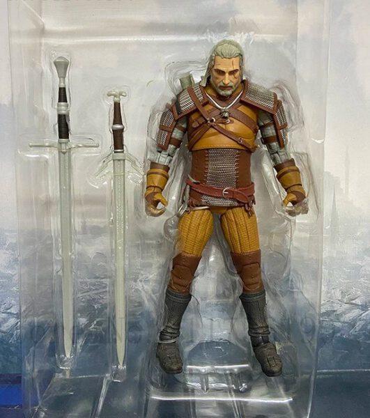 Figura The Witcher Geralt articulaciones móviles