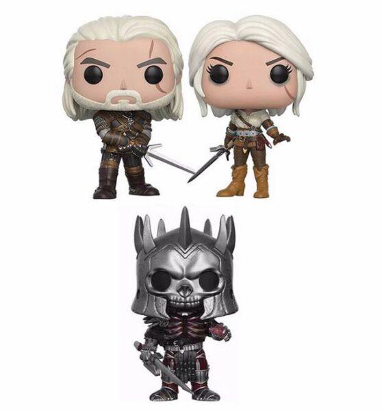 Funkos The Witcher- Geralt, Yeneffer, etc