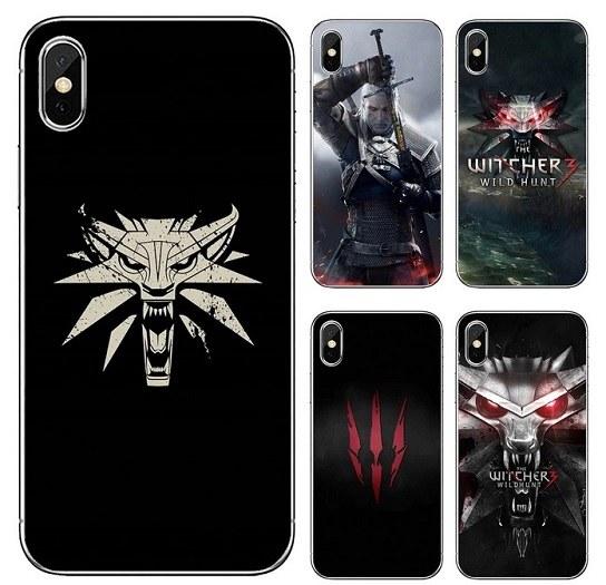 Funda de silicona The Witcher para teléfono