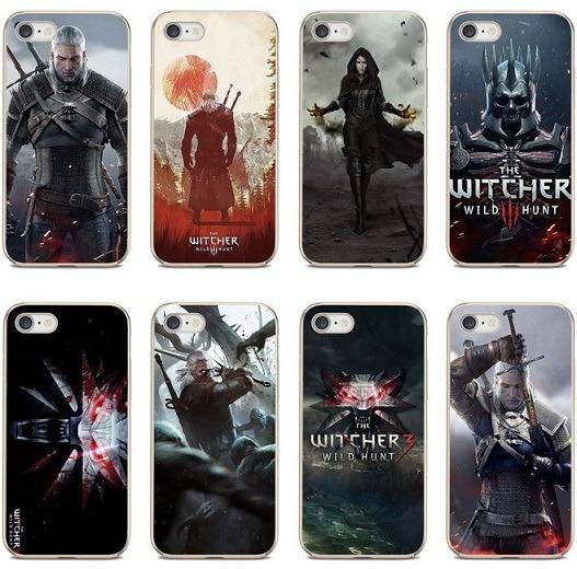 Fundas de silicona The Witcher teléfonos