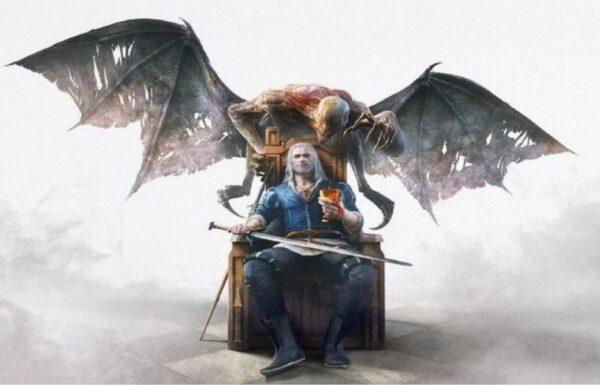 Póster Geralt demonio – Varios tamaños