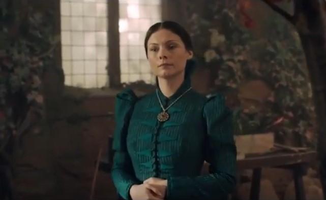 MyAnna Buring interpretando a  Tissaia de Vries- Curiosidades The Witcher 3